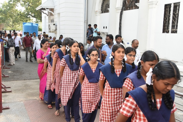 STUDENT VISIT TO TAMILNADU ASSEMBLY- 2018