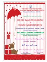 PRIMARY ANNUAL DAY INVITATION